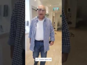 Patient walking out pain free after Major Spinal Surgery